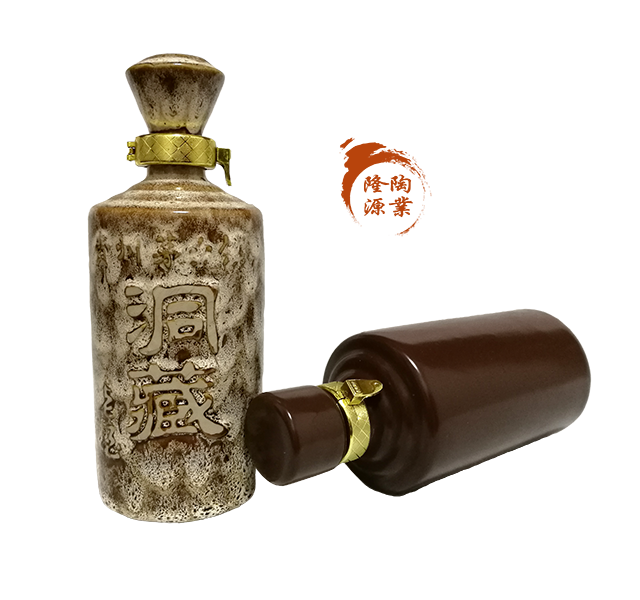 隆昌土陶酒瓶