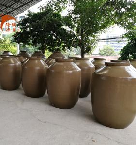 云南粗陶酒罐