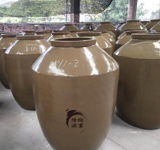 双面釉陶瓷酒坛