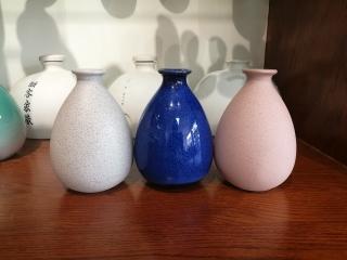 陶瓷手抓瓶,日式清酒瓶